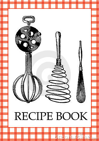 Free Recipe Book Stock Photography - 9365192