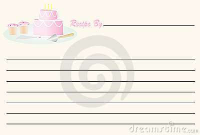 Recipe Card - Birthday