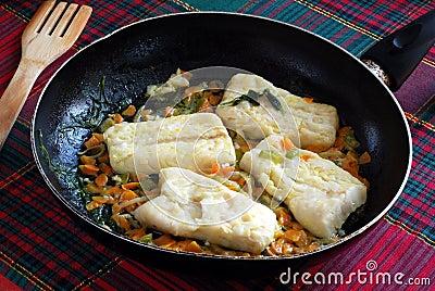 Recipe for cod