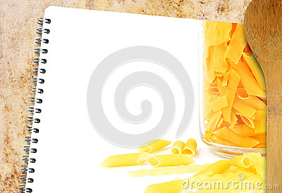 Recipe pasta book