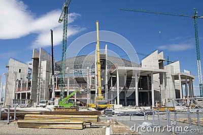 Reconstruccion of indoor sports arena