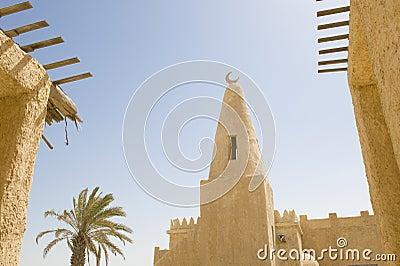 Reconstructed Arab village