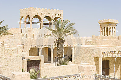 Reconstructed Arab village