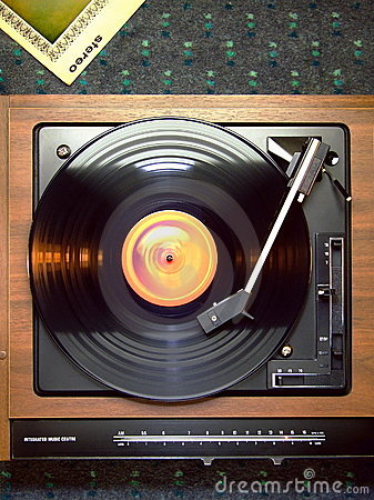 Free Record Player Stock Photography - 4668992