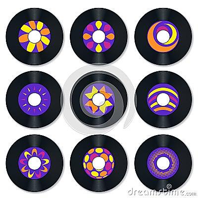 Record vinyl retro