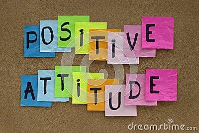 Recordatorio de la actitud positiva