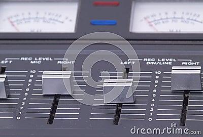 Recording level controls