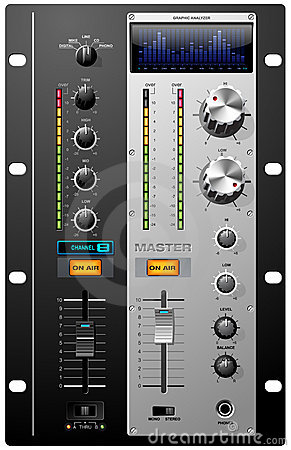 Free Recording Studio Controls Stock Photo - 4743880