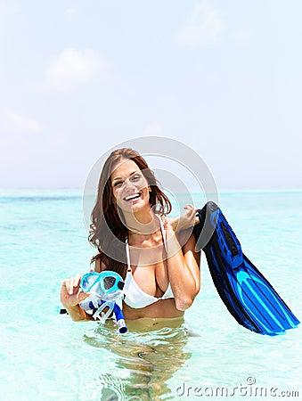 Recreation in the ocean