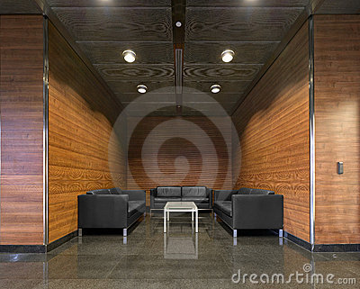 A recreation room
