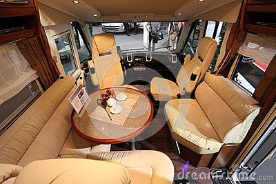 Recreational vehicle interior Editorial Photography
