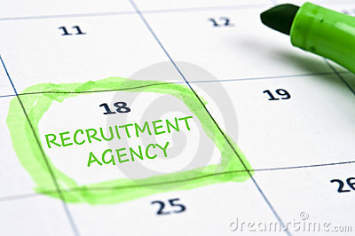 Recruitment agency mark