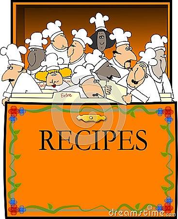 Rectángulo de la receta