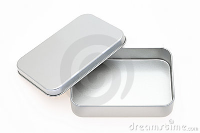 Rectángulo vacío del metal