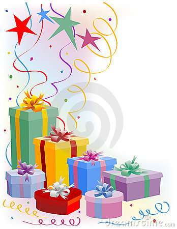 Rectángulos de regalo