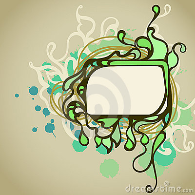 Rectangle doodle frame