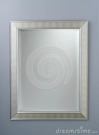 Free Rectangle Mirror Created By Metal Frame Stock Image - 94077631