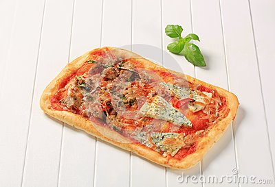 Rectangular pizza