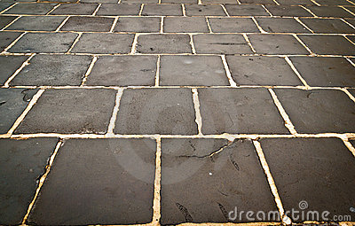 Rectangular stone wet background texture