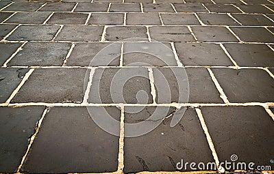 Rectangular stone wet background texture