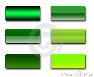 Rectangular Web Buttons Stock Photos - Image: 8941903