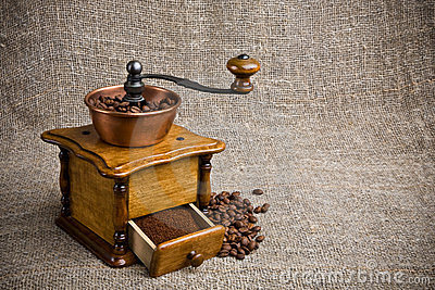 Rectifieuse de café