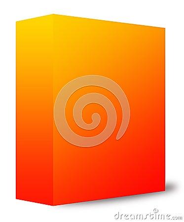 Rectángulo anaranjado