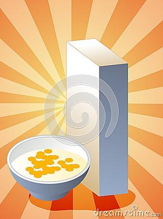Rectángulo de cereal