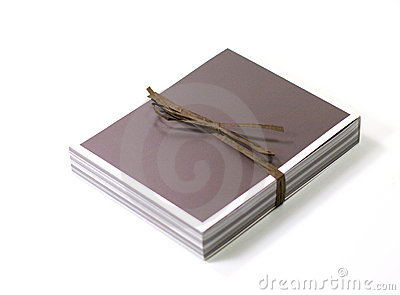 Rectángulo de regalo con la cinta