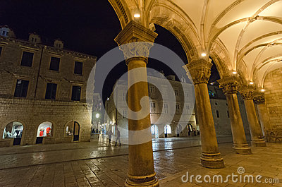 The Rector s Palace In Dubrovnik, Croatia Editorial Photography