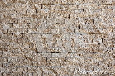 Recubrimiento de paredes de piedra amarillento imagen de - Recubrimientos para paredes ...