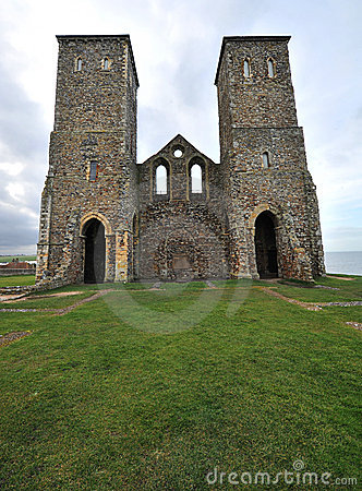 Reculver towers kent