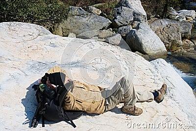 Recumbent hiker