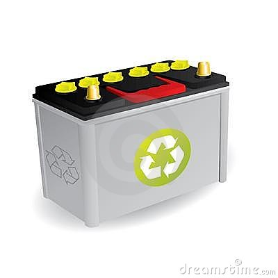 Free Recyclable Car Battery Stock Images - 15322844