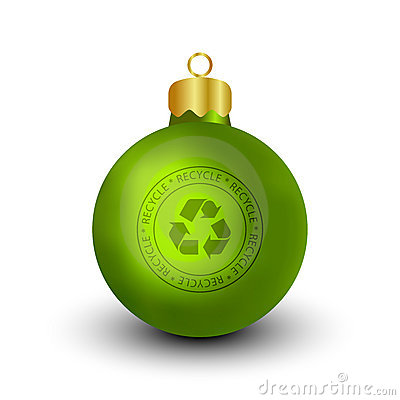 Recyclable Christmas Bauble