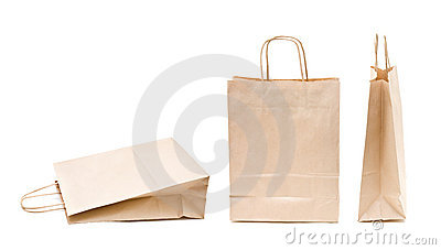 Recyclable; reusable paper bag