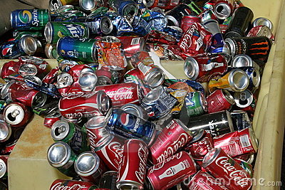 Recycle cans Editorial Photo