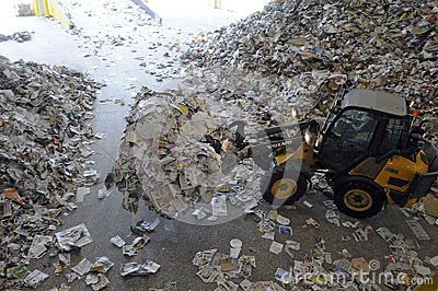 Recycle Editorial Stock Image