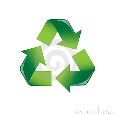 Free Recycle Arrows Stock Image - 3354561
