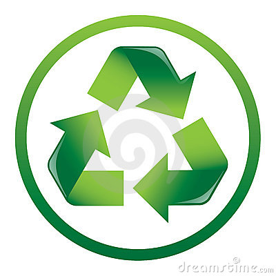 Free Recycle Arrows Icon Stock Photo - 3354600
