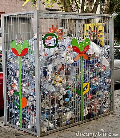 Recycle bin Editorial Photo