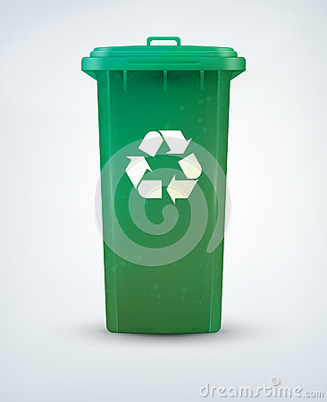 Free Recycle Bin Royalty Free Stock Photography - 24713897