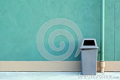 A recycle bin