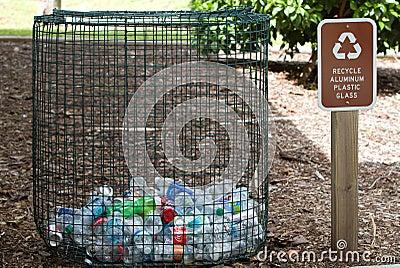 Recycle Bin Editorial Stock Photo