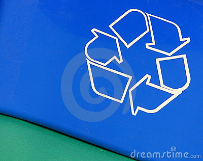 Recycle bin abstract