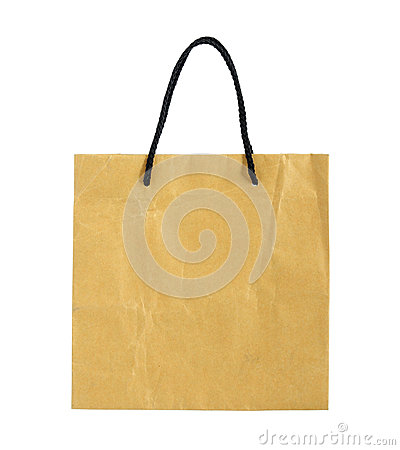 Free Recycle Brown Paper Bag Royalty Free Stock Photography - 31977537