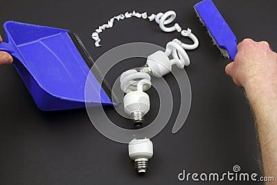 Recycle CFL Bulbs