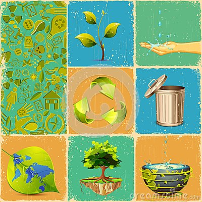 Recycle Collage