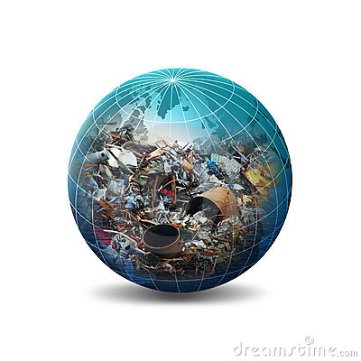 Free Recycle Concept Illustration Royalty Free Stock Photo - 2993875