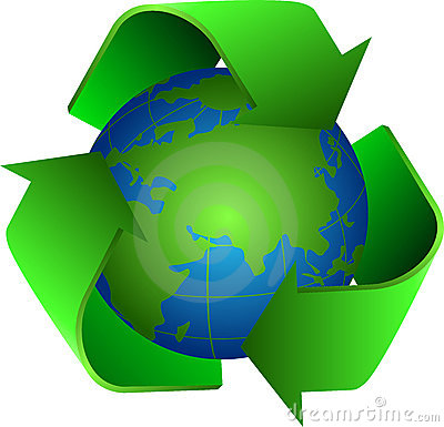 Recycle and earth